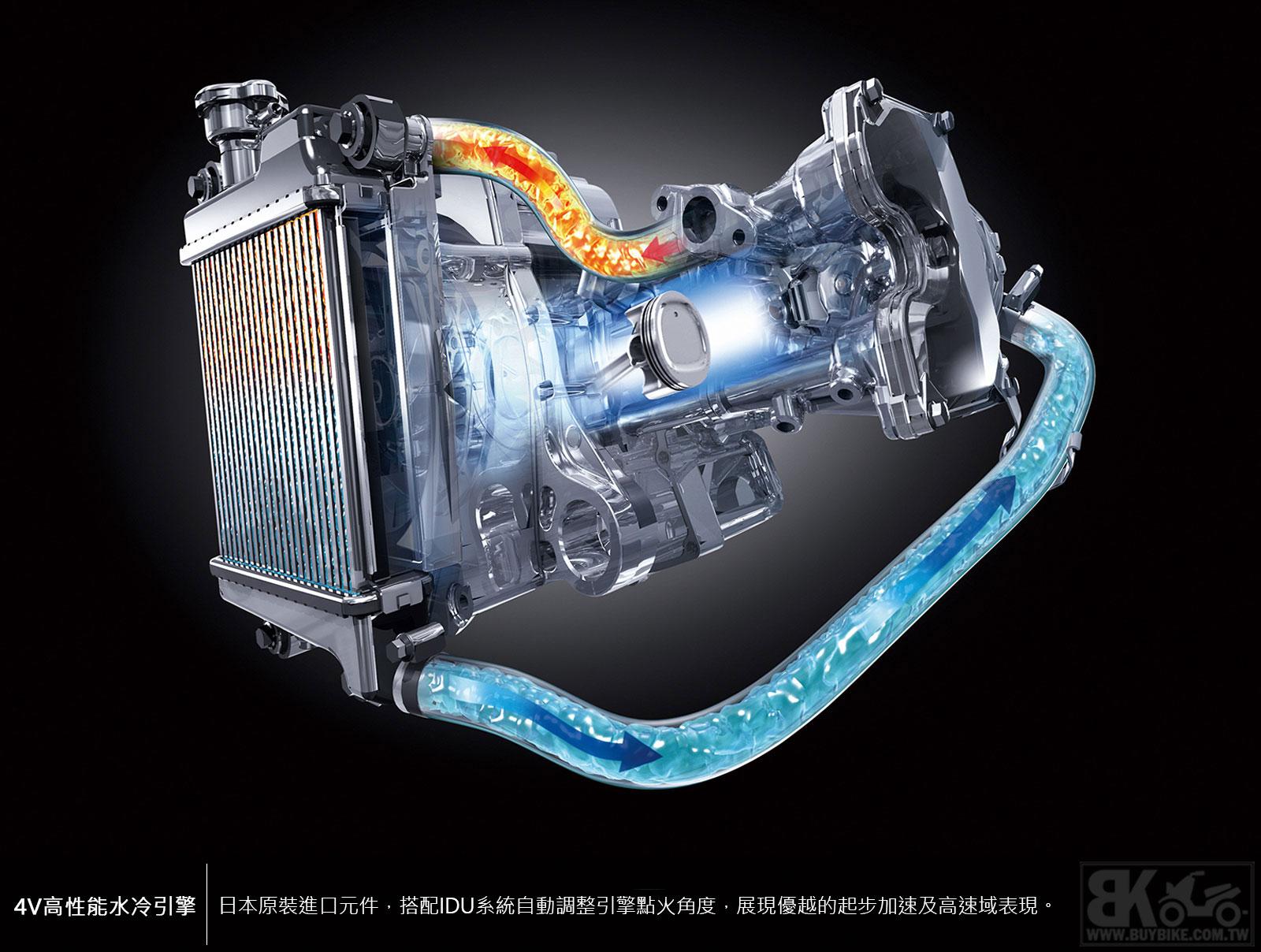 02.4V-高性能水冷引擎