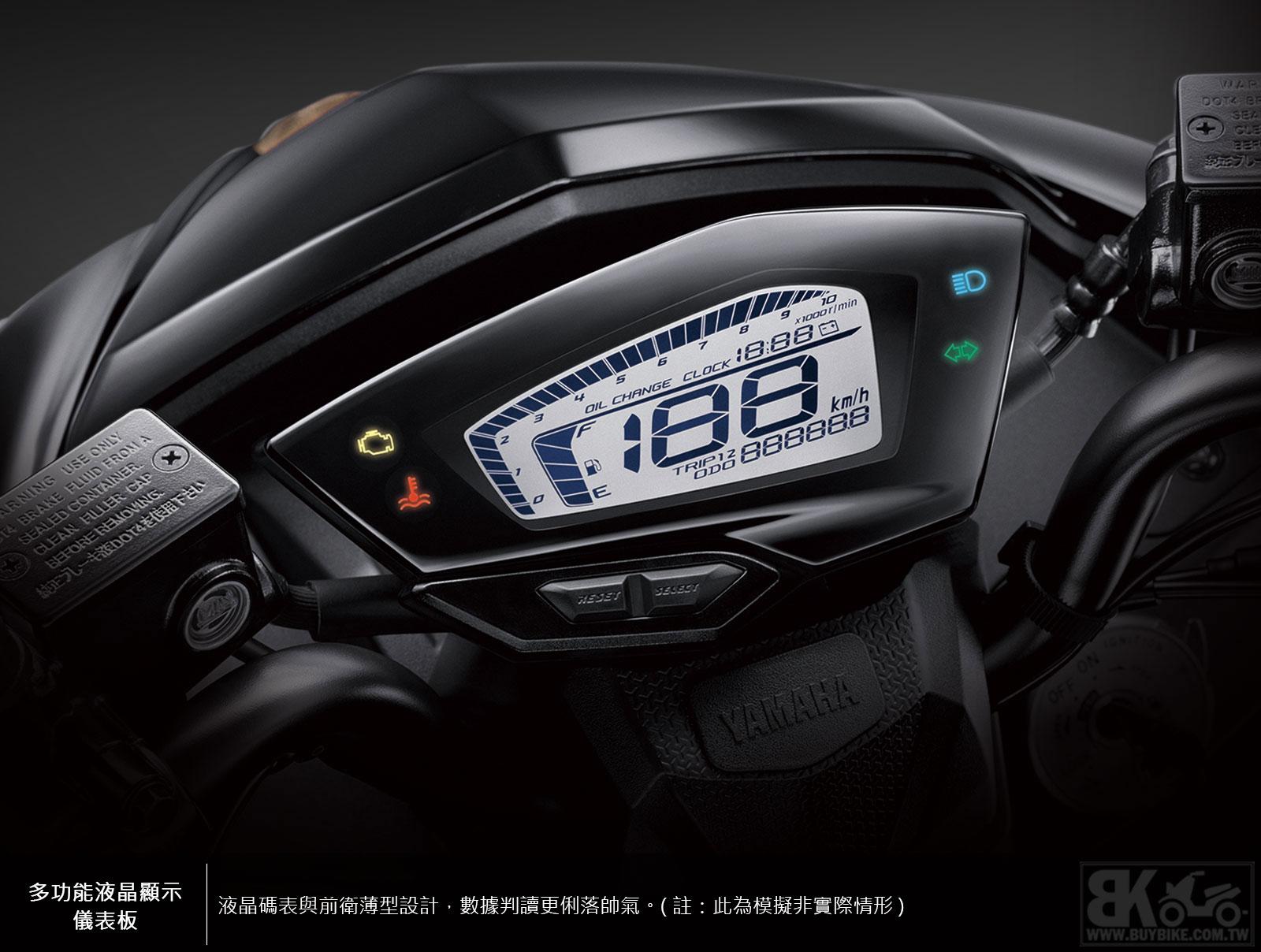 05.多功能液晶顯示儀表板