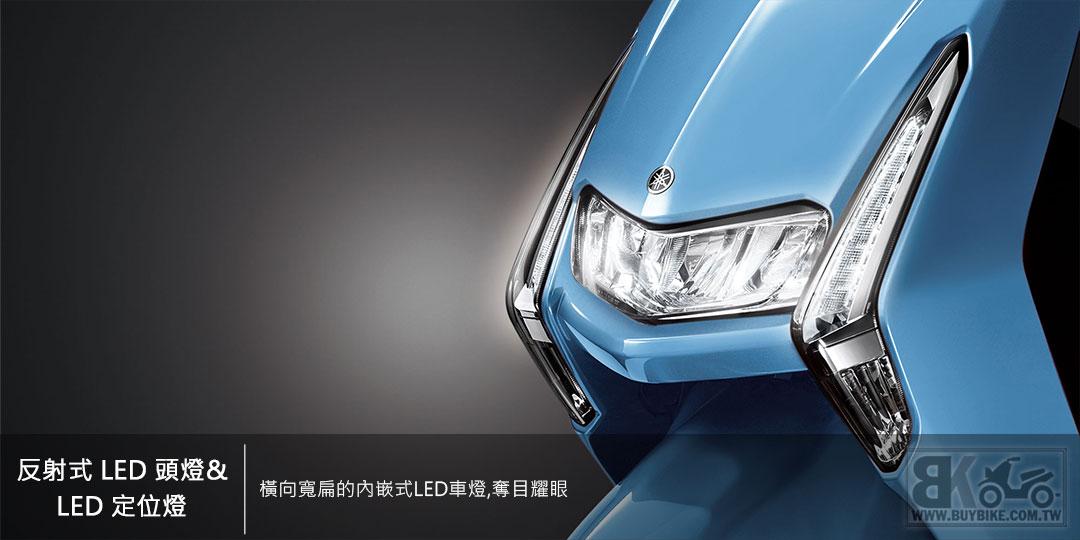 02.反射式-LED-頭燈、LED-定位燈
