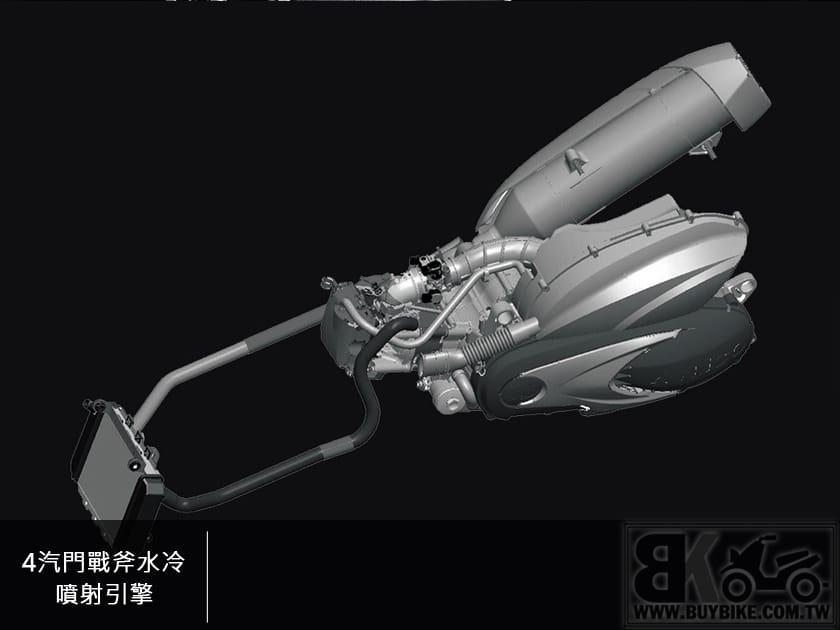 12.4汽門戰斧水冷噴射引擎
