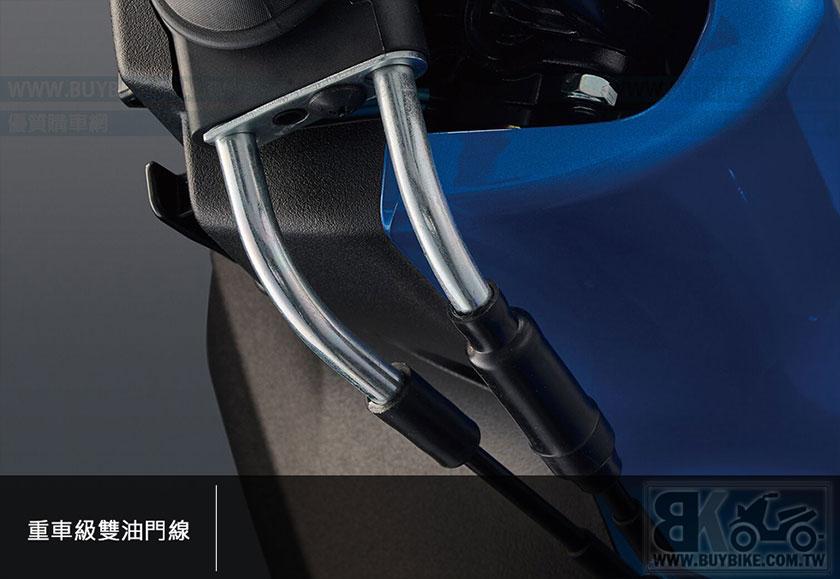 13.重車級雙油門線