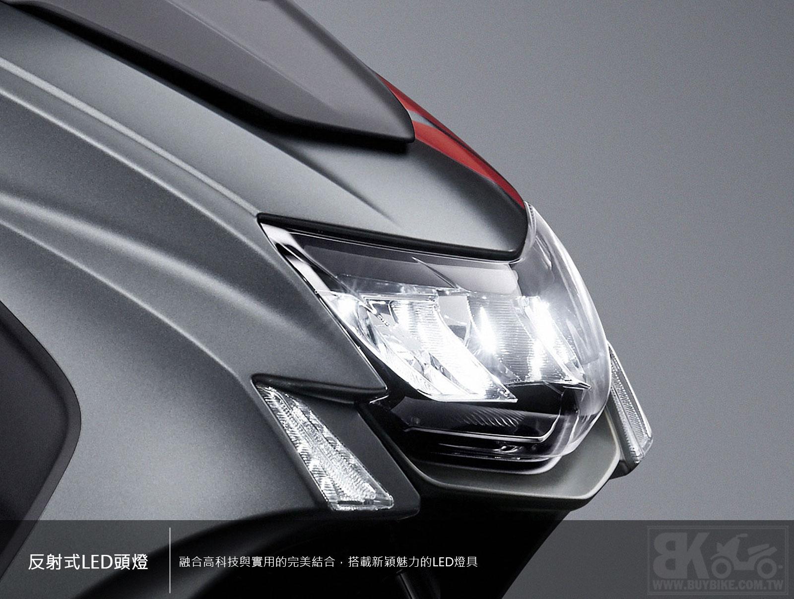 02.反射式LED頭燈