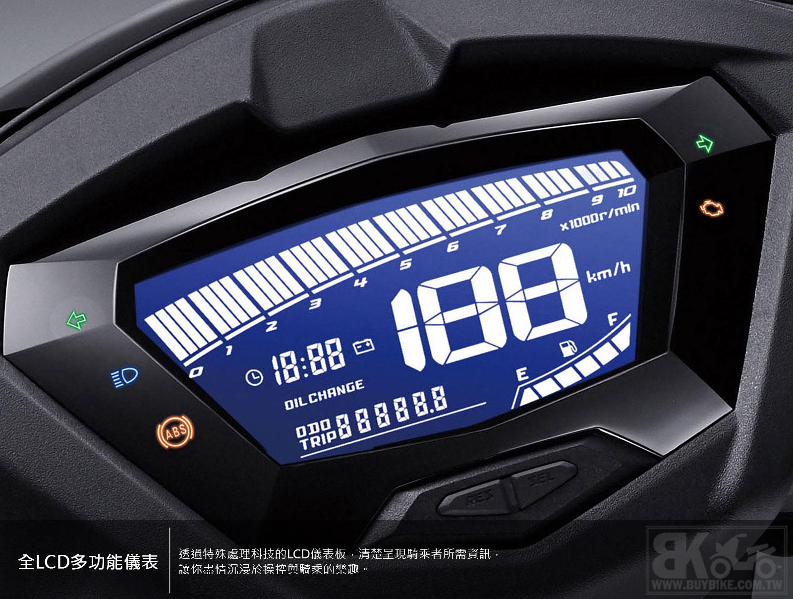 04.全LCD多功能儀表