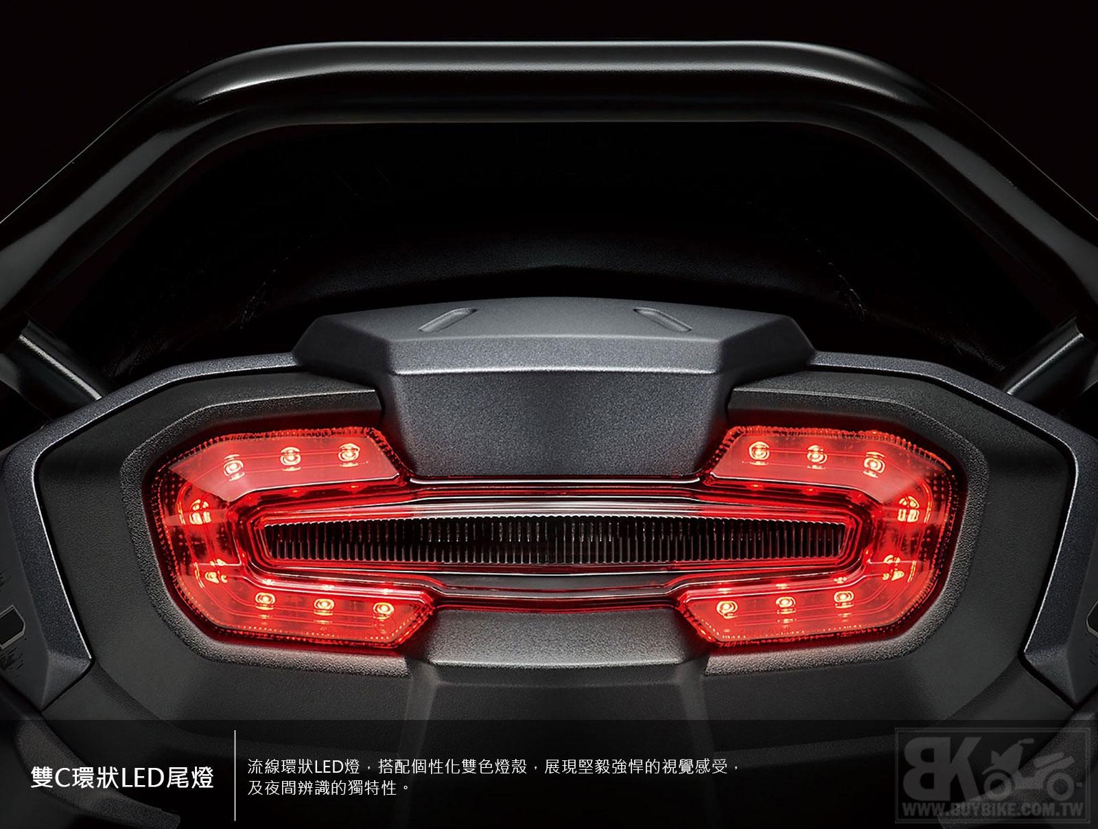 04.雙C環狀LED尾燈